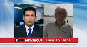 Jean-Michel Cousteau on PBS News Hour July14