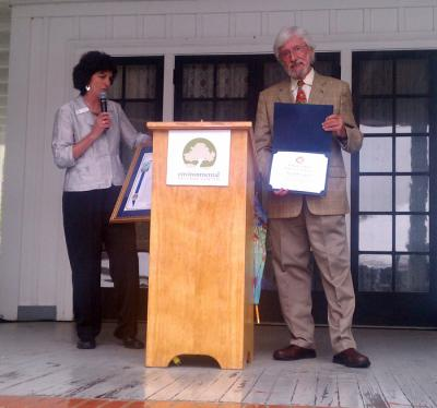 Jean-Michel Cousteau wins Award