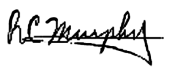 Richard Murphy's Signature
