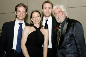 Fabien, Céline, Philippe and Jean-Michel Cousteau honor Captain Cousteau's Life.